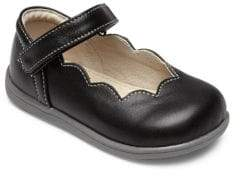 See Kai Run Baby's& Toddler's Leather Scalloped Mary Jane Flats