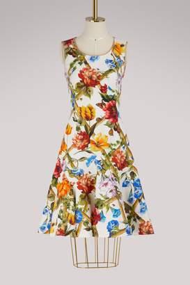 Dolce & Gabbana Bamboo printed midi dress