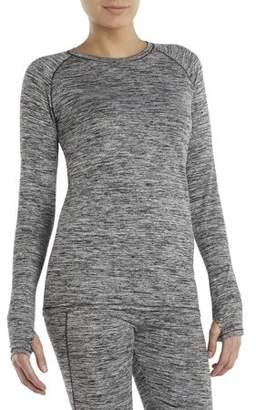 46de0e6e9b1cea Cuddl Duds ClimateRight by Women's Plush Warmth Warm Underwear Top