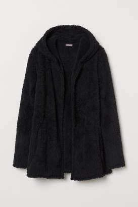 H&M Fleece Cardigan - Black