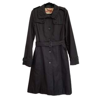 Burberry Black Polyester Trench coats
