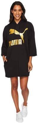 Puma Glam Oversized Hooded Dress Women's Dress