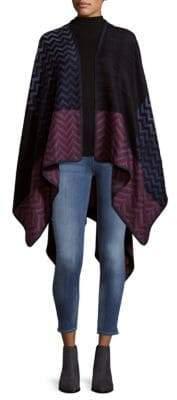 Missoni Chevron Knitted Cape
