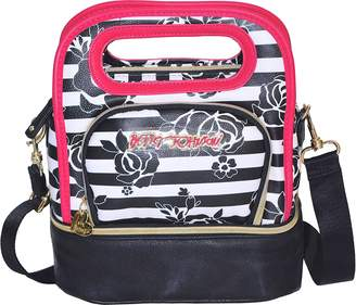 Betsey Johnson Lunch Bag Be Mine Top Handle Tote Bag Purse Womens