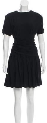 Miu Miu Knee-Length Short Sleeve Dress