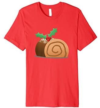 Yule Log Holly Jolly Christmas Dinner T-shirt