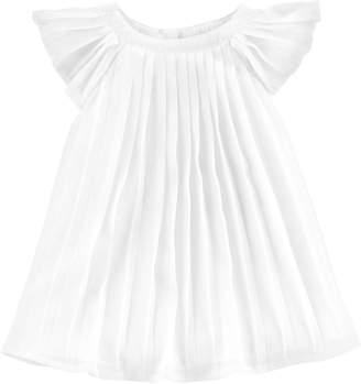 Osh Kosh Oshkosh Bgosh Baby Girl Pleated Chiffon Dress