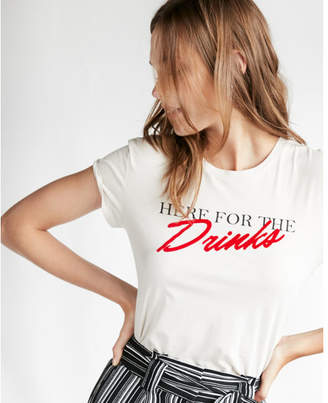 Express here for the drinks graphic tee