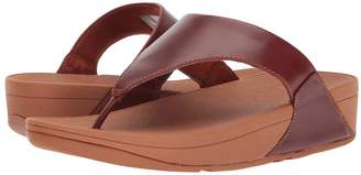 FitFlop Lulu Leather Toe Post Sandal Women's Sandals