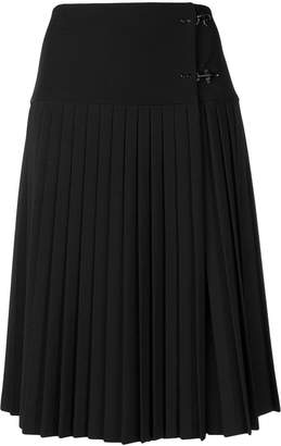 Fay high waist pleated skirt