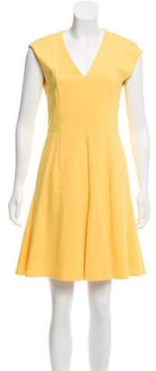 Akris Punto Sleeveless Shift Dress Yellow Sleeveless Shift Dress