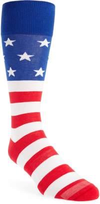 Nordstrom American Flag Socks