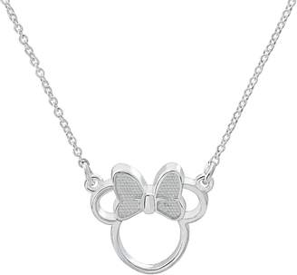 Disney Disney's Minnie Mouse Sterling Silver Necklace