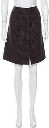 Mayle Wool Tweed Knee-Length Skirt
