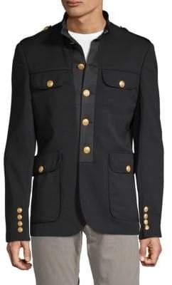 Pierre Balmain Classic Mockneck Jacket