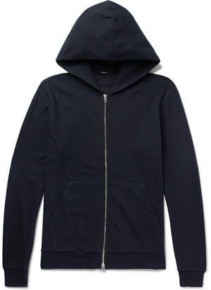 Theory Daulton H Cotton-Jersey Zip-Up Hoodie