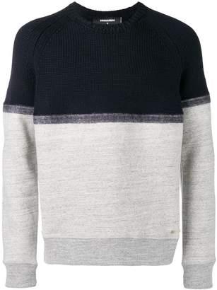 DSQUARED2 two tone sweatshirt