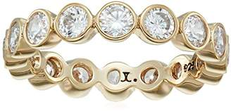 Judith Jack Classics Gold-Tone Sterling Silver and Bezel-Set Crystal Ring, Size 5 $46.86 thestylecure.com