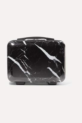 CalPak Astyll Marbled Hardshell Vanity Case - Black