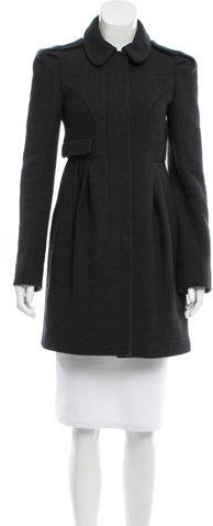 Miu Miu Miu Miu Virgin Wool Short Coat