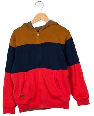 Catimini Boys' Hooded Reversible Jacket
