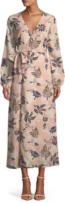 The Jetset Diaries Azalea Midi Wrap Dress