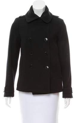 Maison Scotch Wool Double-Breasted Jacket