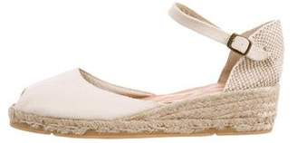 Andre Assous Peep-Toe Espadrille Wedges