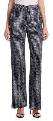 Johanna Ortiz Polka-Dot Wide Leg Pants