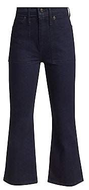 Proenza Schouler PSWL Women's Comfort Stretch Flare Jeans