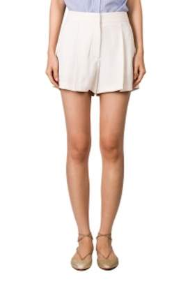 Theory Crepe Pleated Shorts