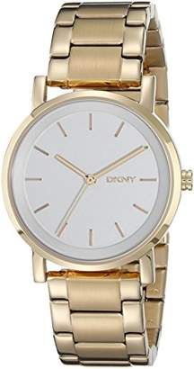 DKNY Women's Analogue Quartz Watch with Stainless Steel Strap NY2343