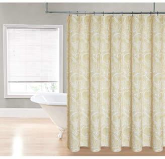 Ebern Designs Loraine Paisley Shower Curtain