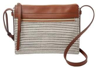 Fossil Felicity Crossbody Handbags Black Stripe