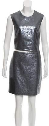 Kaufman Franco KAUFMANFRANCO Sequined Mini Dress