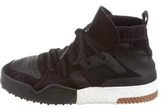 Alexander Wang x Adidas Suede High-Top Sneakers