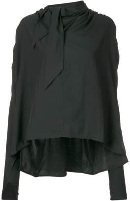 Isabel Marant frilled loose blouse