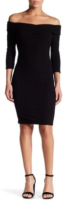 Socialite Ribbed Bodycon Dress $58 thestylecure.com