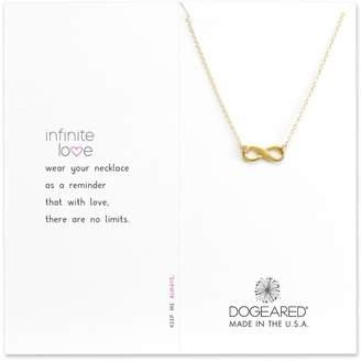 Dogeared Infinite Love Gold