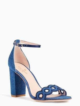 91d04e7e05a9 Blue Kate Spade Heels - ShopStyle