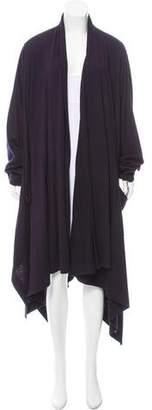 Issey Miyake Wool Oversize Cardigan
