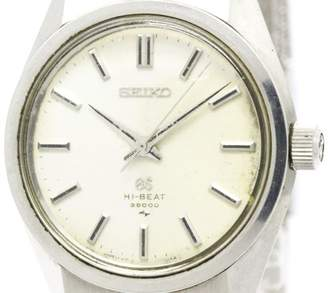 Seiko Grand 4520-8000 Stainless Steel Hand-Winding Vintage 36mm Mens Watch