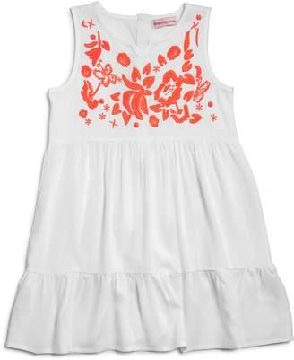 Design History Girls' Embroidered Shirt Dress