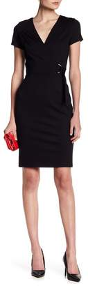 Love...Ady Ponte Short Sleeve Wrap Dress