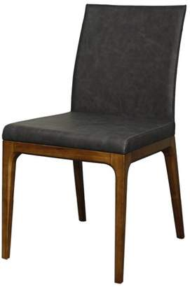 NPD Devon Chair Walnut Legs, Antique Gray