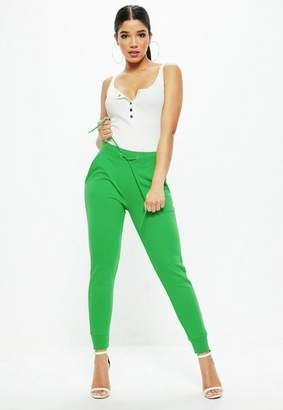 Missguided Tie Waist Joggers