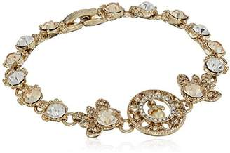 Marchesa Women's Tone/ Multi Flex Bracelet