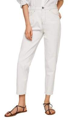 MANGO Mom Relaxed-Fit Jeans