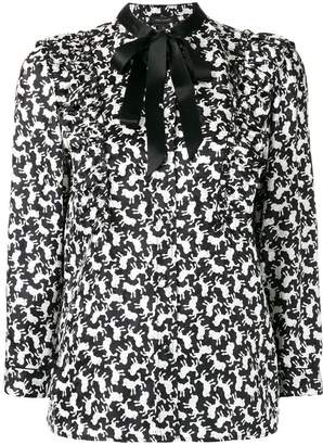 Marc Jacobs poodle print shirt