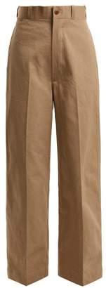 Chimala - Military Cotton Chino Trousers - Womens - Beige